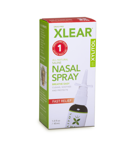 FREE Xlear Natural Nasal Spray...