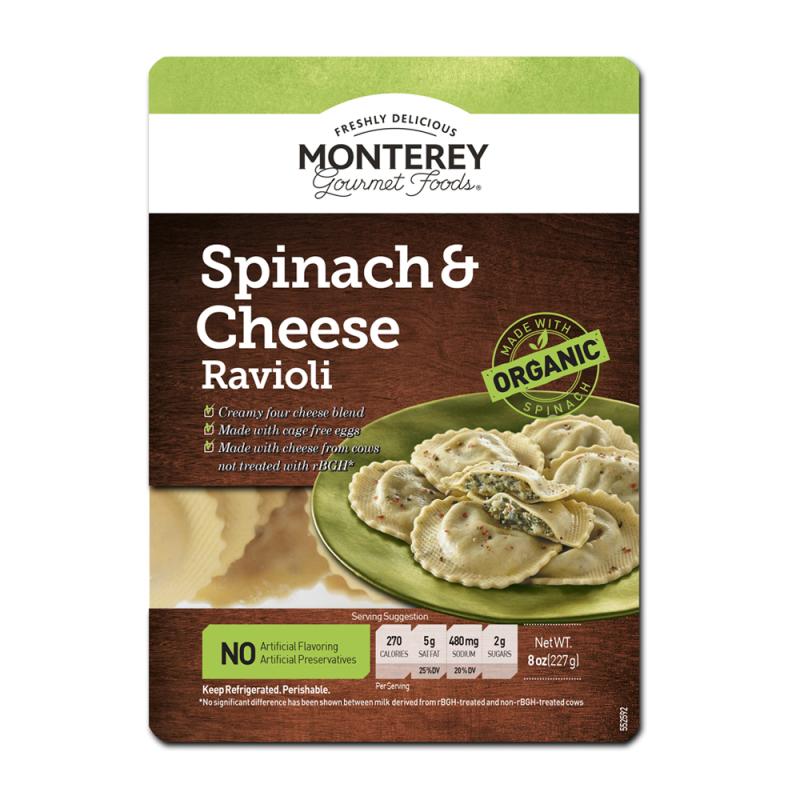 Monterey Gourmet Foods Italian Ravioli Reviews Social Nature